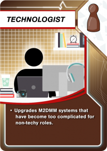 Upgrades M2DMM systems that have become too complicated for non-techy roles