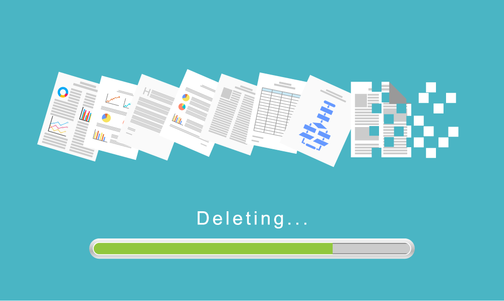 Risk Management: Delete old files